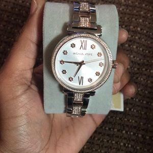 Brand new Silver&Rose Gold Michael Kors Watch